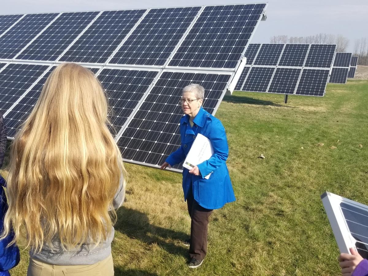 CSA Solar Array
