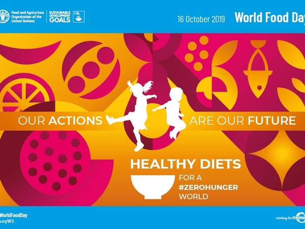 World Food Day is October 16, 2019