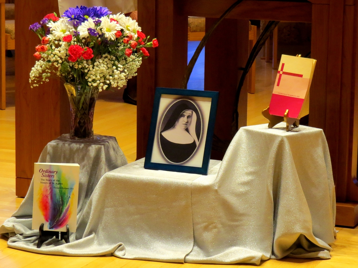 Mother Agnes Display