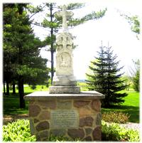 Grave of Father Caspar Rehrl (in Fond du Lac, Wisconsin), Founder of the Sisters of St. Agnes