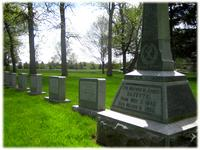 Grave of Mother Agnes Hazotte, First Superior General of the Sisters of St. Agnes