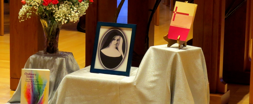 Mother Agnes Day Display