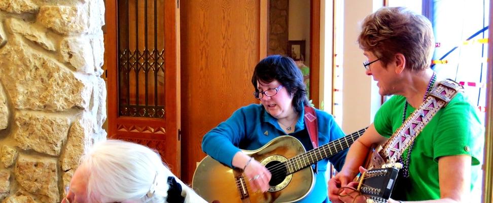 Prayerful musicians