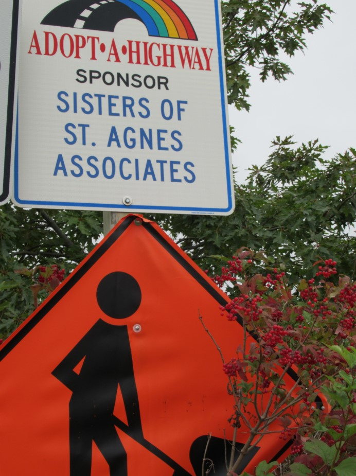 Adopt a Highway Sponsorship Sign
