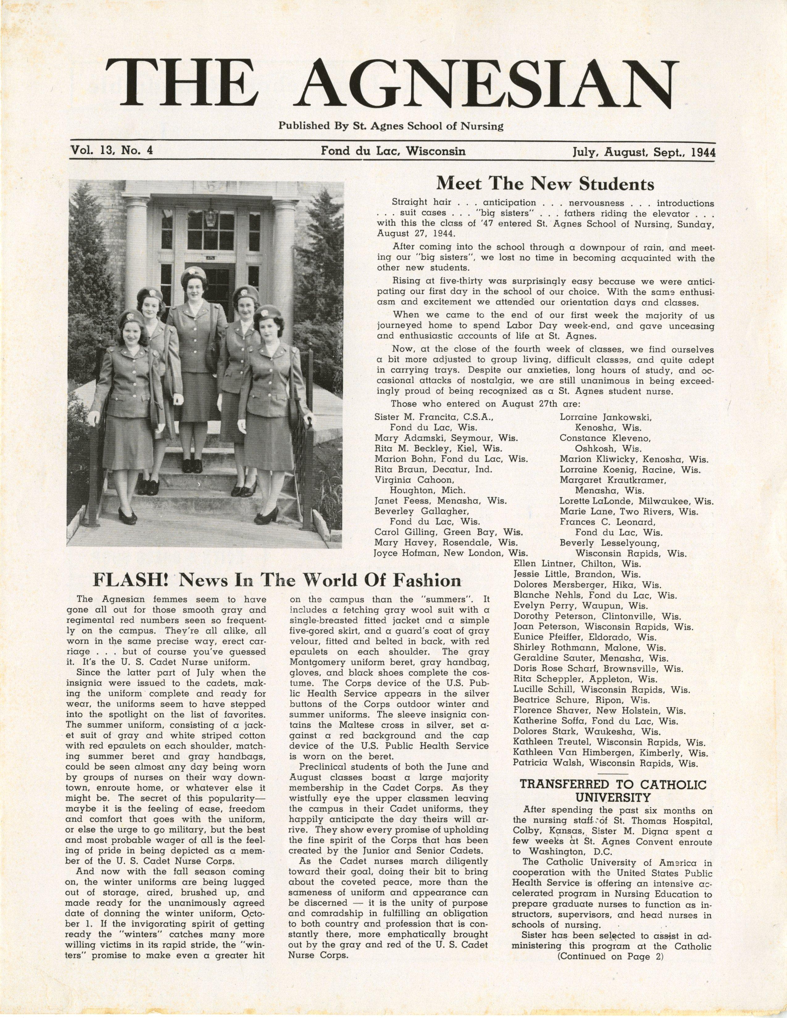 1944 The Agnesian