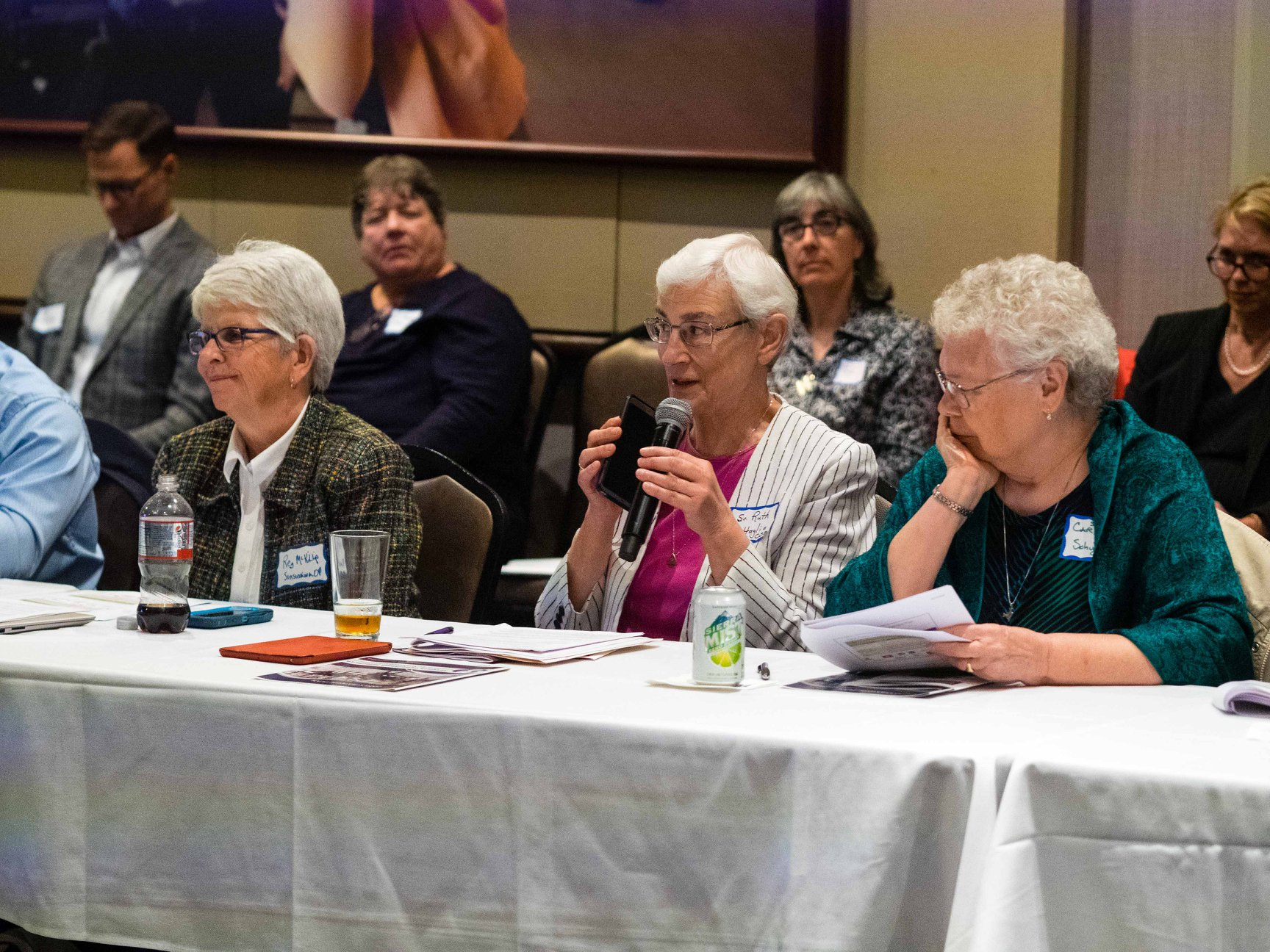 Sister Ruth comments during SGI Conference