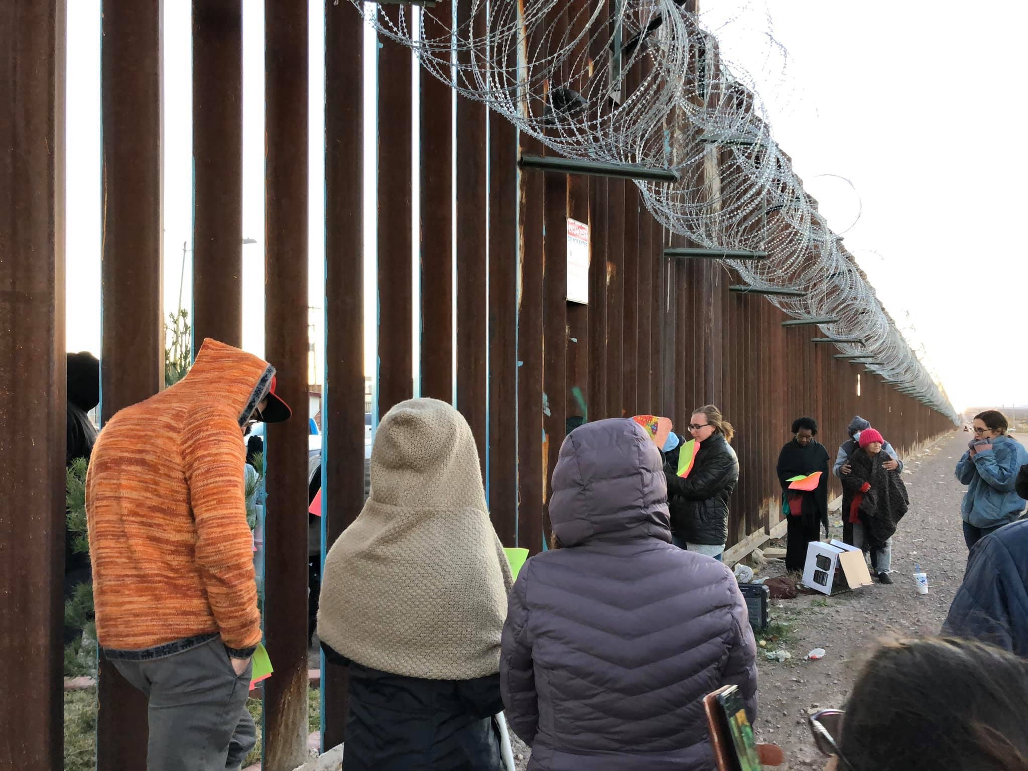 Students at the border