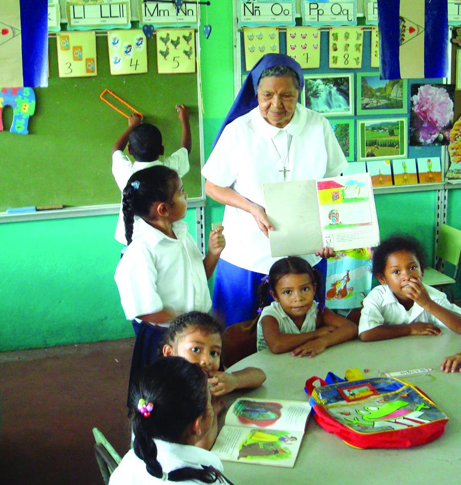Nicaraguan classroom