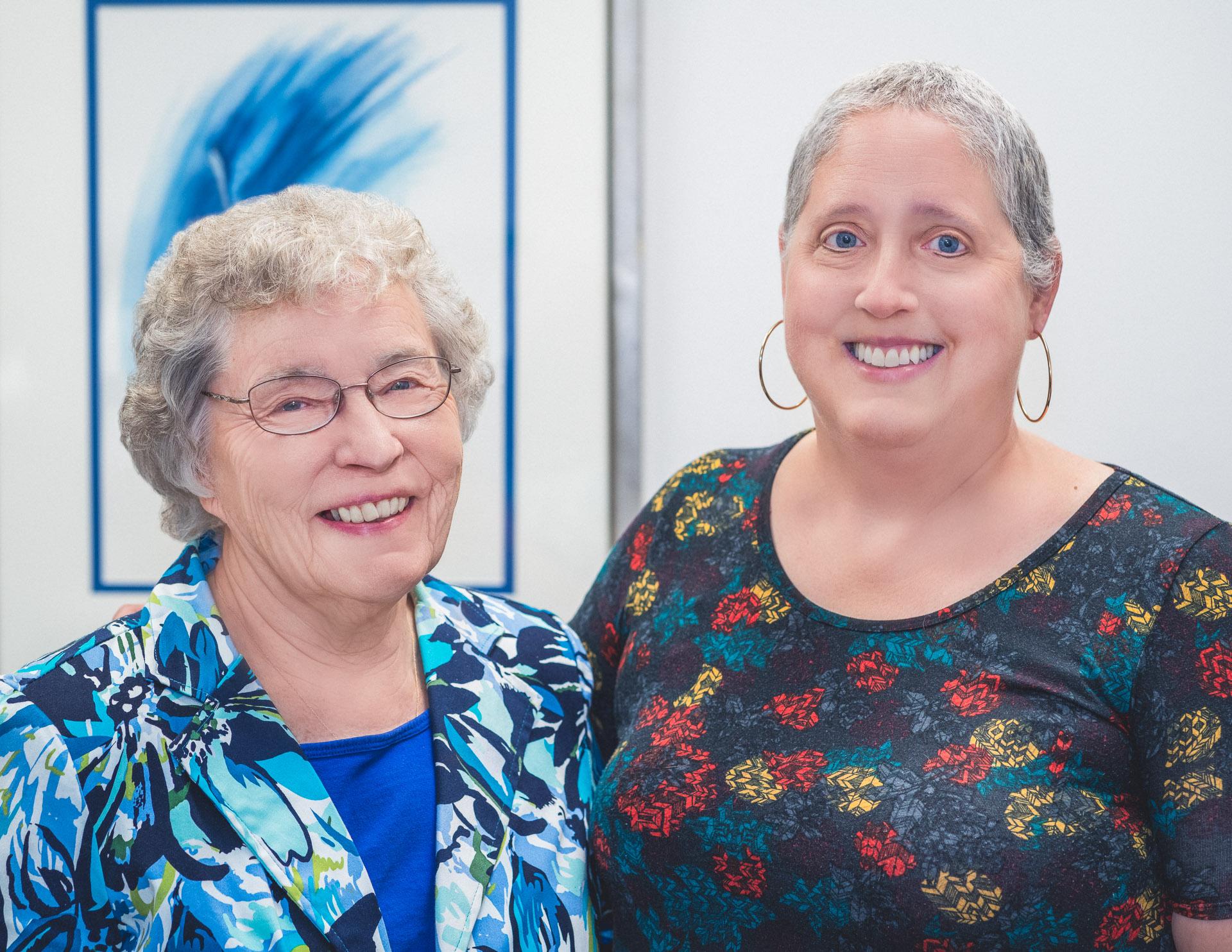 Portrait of Diane and Karen