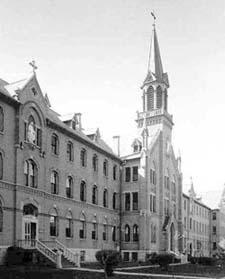 St. Agnes Convent, 390 E. Division Street, Fond du Lac, Wisconsin 1877-1975