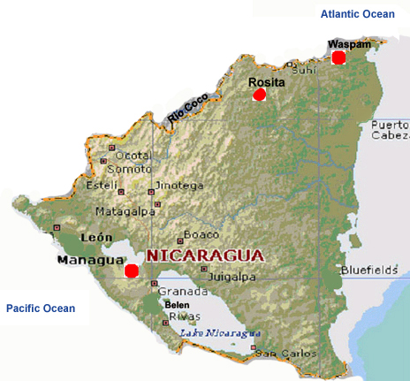 CSA missions in Nicaragua